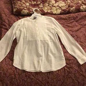 Gap holiday tux shirt NWOT